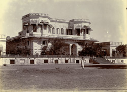 General view of the Shahi Bagh Palace, Ahmadabad